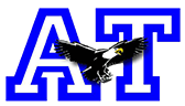 Austin Tracy Elementary logo of eagle