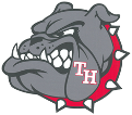 Temple Hill Elementary logo of angry bull dog