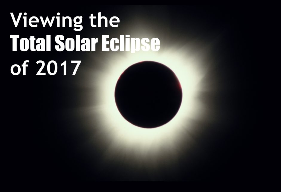 viewing solar eclipse