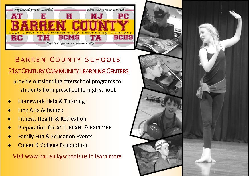 21st Century Community Learning Centers Barren County School District